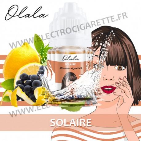 Pack de 5 x Solaire - L'Effrontée - Olala Vape - 10ml