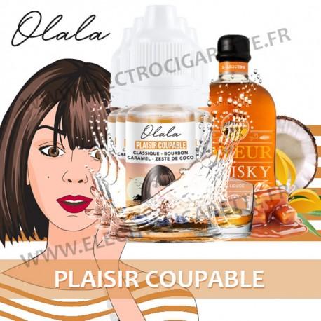 Pack de 5 x Plaisir Coupable - L'Aventurière - Olala Vape - 10ml