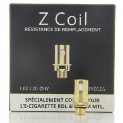 Pack de 5 x Résistances RDL 1ohm pour Zenith / Zlide Innokin