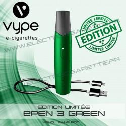 Coffret Simple ePen 3 Green - Edition Limitée - Vype