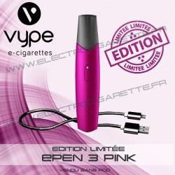 Coffret Simple ePen 3 Pink - Edition Limitée - Vype
