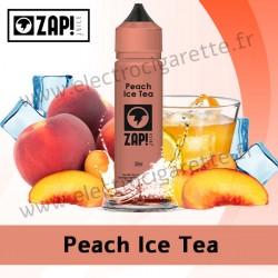 Peach Ice Tea - Zap! Juice - ZHC - 50 ml