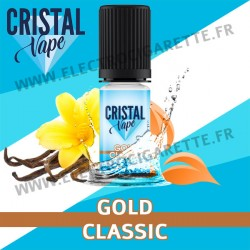 Gold Classic - Cristal Vapes - 10ml