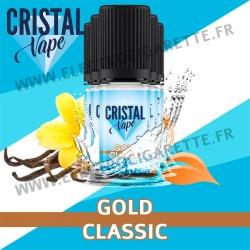 Pack de 5 x Gold Classic - Cristal Vapes - 10ml