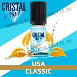 USA Classic - Cristal Vapes - 10ml