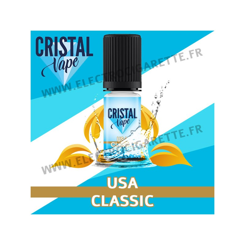 USA Classic - Cristal Vapes - 10ml