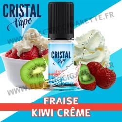 Fraise Kiwi Crème - Cristal Vapes - 10ml