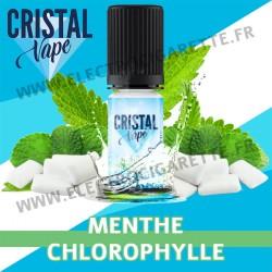 Menthe Chlorophylle - Cristal Vapes - 10ml