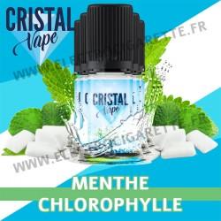 Pack de 5 x Menthe Chlorophylle - Cristal Vapes - 10ml