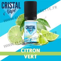 Citron Vert - Cristal Vapes - 10ml