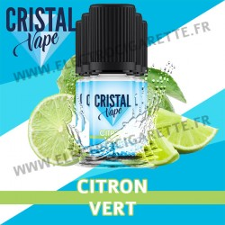 Pack de 5 x Citron Vert - Cristal Vapes - 10ml