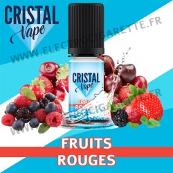 Fruits Rouges - Cristal Vapes - 10ml