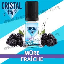 Mûre Fraîche - Cristal Vapes - 10ml