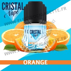 Pack de 5 x Orange - Cristal Vapes - 10ml
