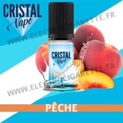 Pêche - Cristal Vapes - 10ml