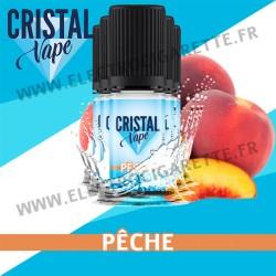 Pack de 5 x Pêche - Cristal Vapes - 10ml