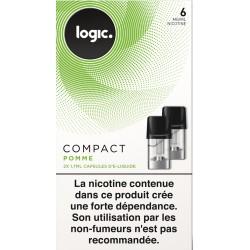 LOGIC COM 2 CAPSULES POMME 6 MG
