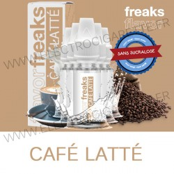 Pack de 5 x Café Latté - Flavor Freaks - 10 ml