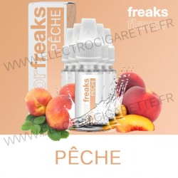 Pack de 5 x Pêche - Flavor Freaks - 10 ml