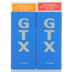 Pack de 5 x resistances GTX Target PM80 - Vaporesso