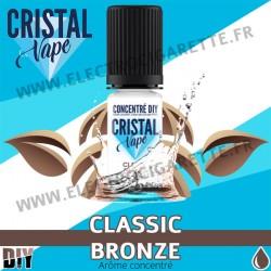 Classic Bronze - Arôme concentré - Cristal Vapes - 10ml - DiY