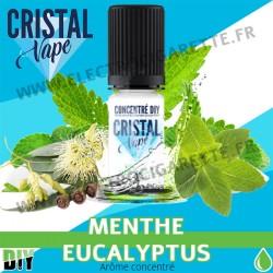 Menthe Eucalyptus - Arôme concentré - Cristal Vapes - 10ml - DiY