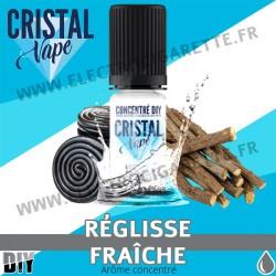 Réglisse Fraîche - Arôme concentré - Cristal Vapes - 10ml - DiY