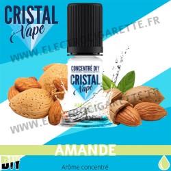 Amande - Arôme concentré - Cristal Vapes - 10ml - DiY