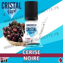 Cerise Noire - Arôme concentré - Cristal Vapes - 10ml - DiY