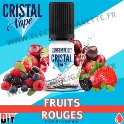 Fruits Rouges - Arôme concentré - Cristal Vapes - 10ml - DiY