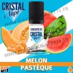 Melon Pastèque - Arôme concentré - Cristal Vapes - 10ml - DiY