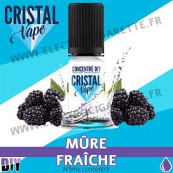 Mûre Fraîche - Arôme concentré - Cristal Vapes - 10ml - DiY