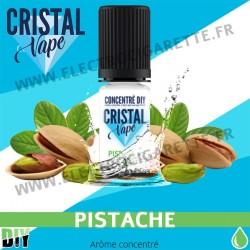 Pistache - Arôme concentré - Cristal Vapes - 10ml - DiY