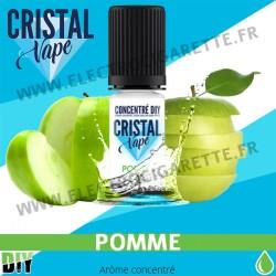 Pomme - Arôme concentré - Cristal Vapes - 10ml - DiY