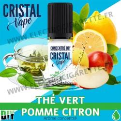 Thé vert Pomme Citron - Arôme concentré - Cristal Vapes - 10ml - DiY