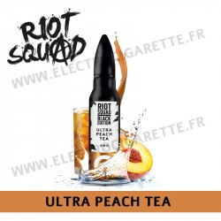 Ultra Peach Tea - Riot Squad - Black Edition - ZHC 50ml