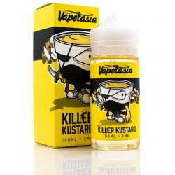 Killer Kustard - Vapetesia - ZHC 100 ml