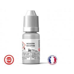 Pack 1 booster 10ml pour avoir 2 mg de nicotine pour 100ml