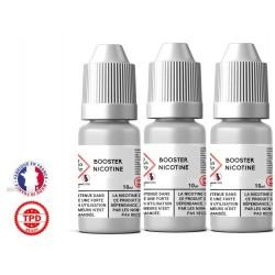 Pack 3 boosters 10ml pour avoir 4 mg de nicotine pour 100ml