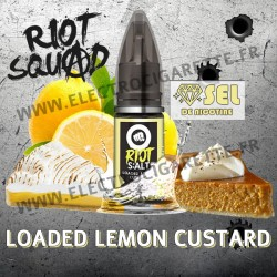 Loaded Lemon Custard - Riot Squad - S:Alt - 10ml - Sel de nicotine