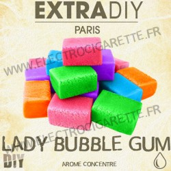 Lady Bubble Gum - ExtraDiY - 10 ml - Arôme concentré