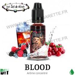 Blood - Les Jus de Nicole - 20 ml - Arôme concentré