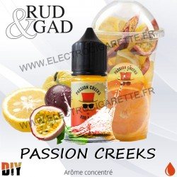Concentré Passion Creeks 30ml - Rud & Gad