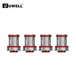 Résistances pour Crown 4 (0.4ohm) Uwell (pack de 4)