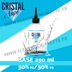 Base - Cristal Vapes - 250 ml - 50% PG / 50% VG