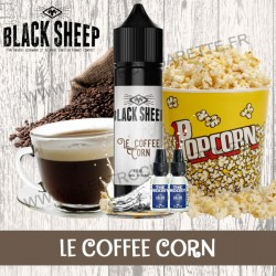 Le Coffee Corn - Black Sheep - Green Vapes - 62 ml