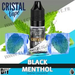 Black Menthol - Arôme concentré - Cristal Vapes - 10ml - DiY