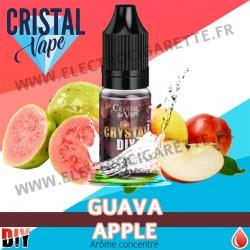 Guava Apple - Arôme concentré - Cristal Vapes - 10ml - DiY