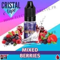 Mixed Berries - Arôme concentré - Cristal Vapes - 10ml - DiY