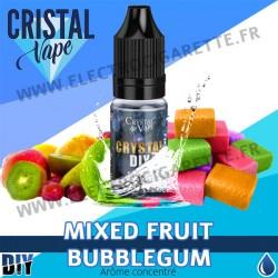 Mixed Fruit Bubblegum - Arôme concentré - Cristal Vapes - 10ml - DiY